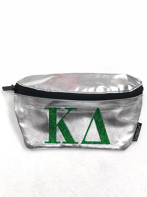 Kappa Delta Metallic Fanny Pack