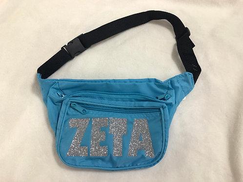 Zeta Tau Alpha Neon Fanny Pack