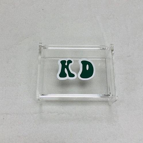 Kappa Delta Retro Acrylic Box