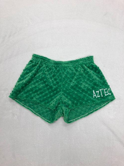 Aztec Minky Dot PJ Shorts