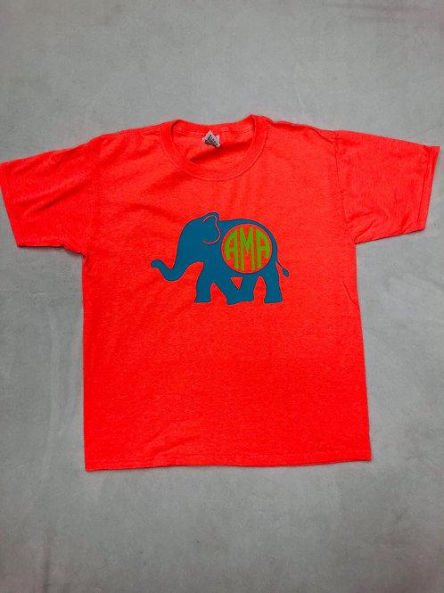 Elephant Monogrammed Shirt