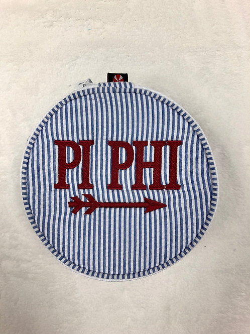Pi Beta Phi Blue Jewelry Case