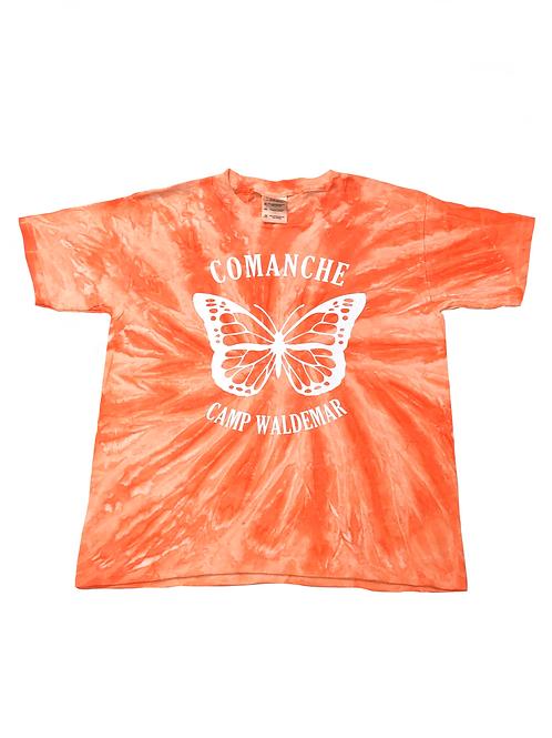 Comanche Tie Dye Sparkle Butterfly Tee