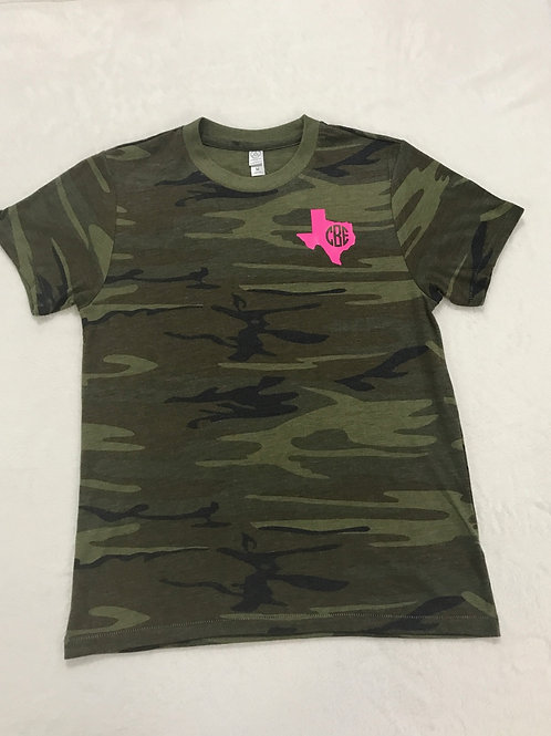 Personalized Camo Shirt