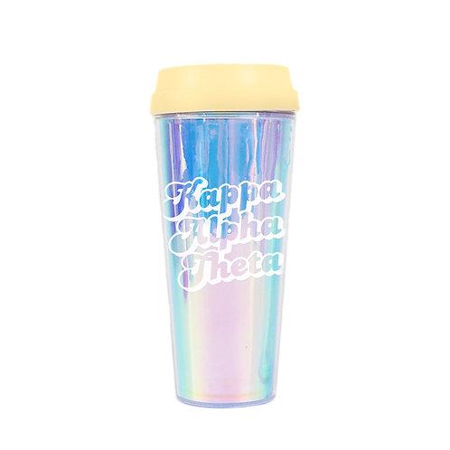 Kappa Alpha Theta Retro Travel Mug