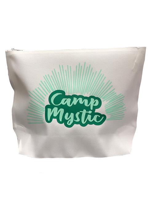 Camp Mystic White Canvas Bag