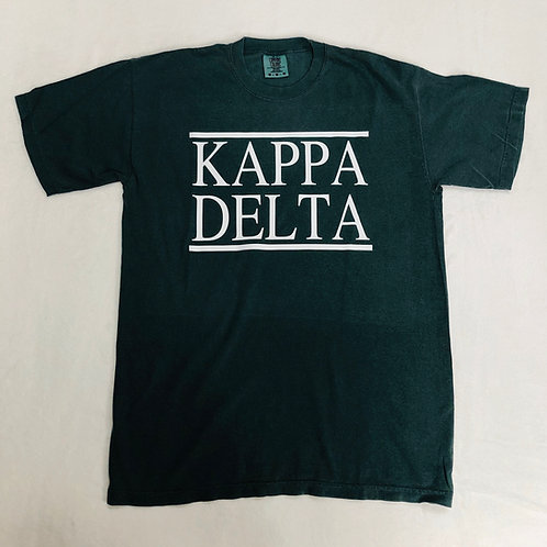 Kappa Delta Dark Green Short Sleeve Tee