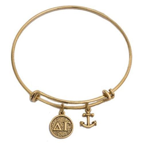Delta Gamma Gold Bracelet