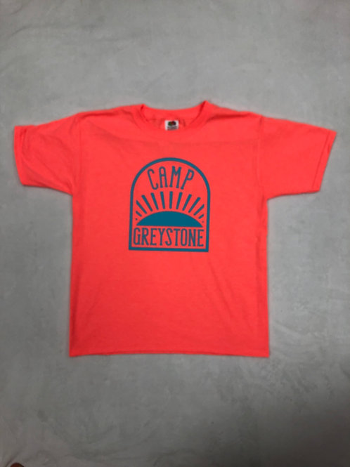 Greystone Neon Orange Sunrise Shirt