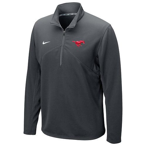 SMU Nike Dri-Fit Quarter-Zip Dark GrayJacket