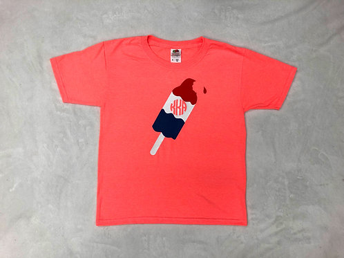 Bomb Pop Monogrammed Shirt