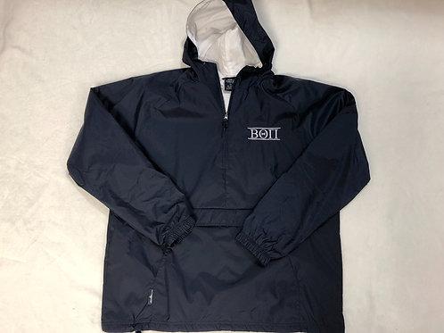 Beta Theta Pi 1/4 Zip Rain Jacket