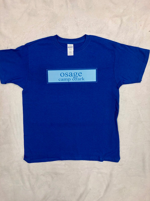 Osage Blue Prep Design Tee