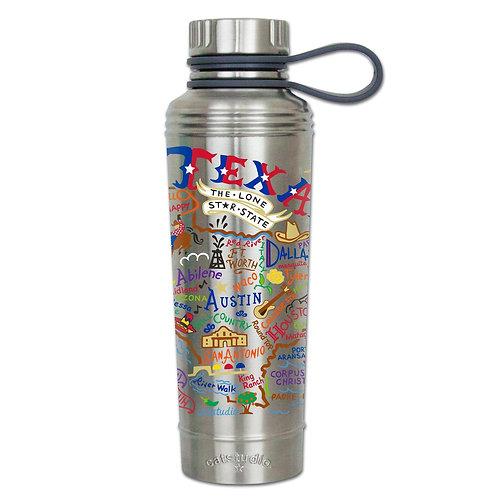 Texas Stainless Steel Water Bottles