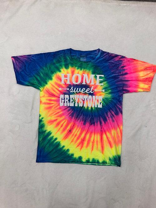 Home Sweet Greystone Tie Dye Tee