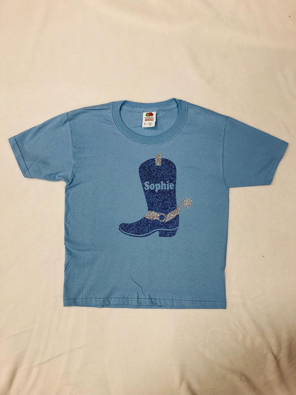 3deef293dcc Cowboy Boot Monogrammed Shirt