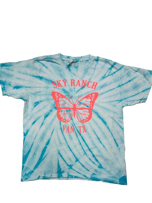 Sky Ranch Tie Dye Sparkle Tee