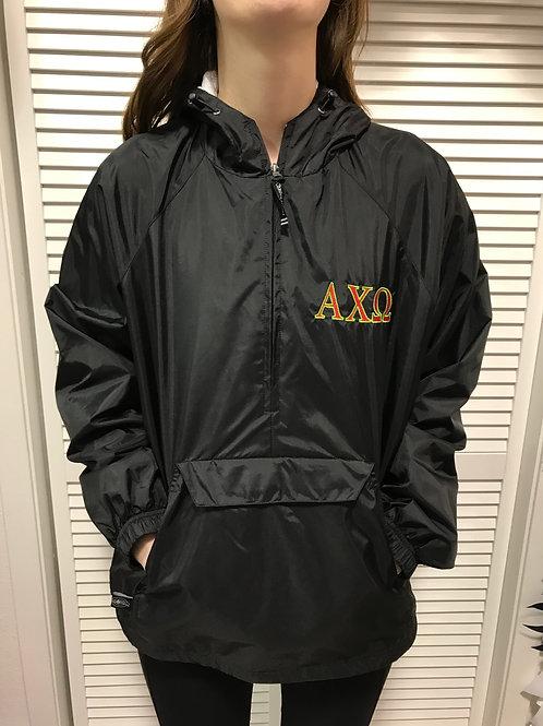 Alpha Chi Omega Rain Jacket