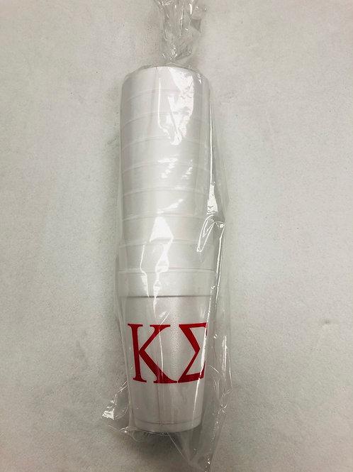 Kappa Sigma Styrofoam Cups