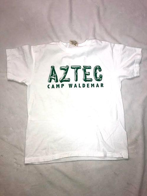 Aztec White Log Shirt