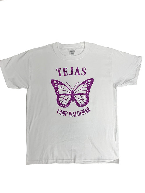 Tejas Sparkle Butterfly Tee