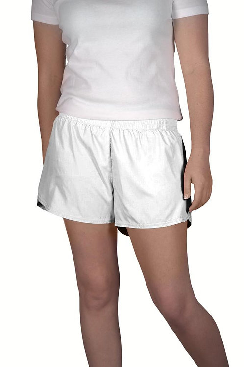 Youth White Summer Shorts