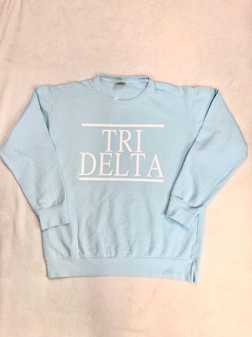 Delta Delta Delta Comfort Colors Sweatshirt