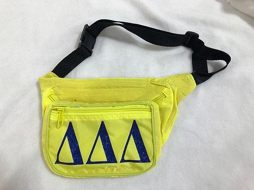 Delta Delta Delta Neon Fanny Pack