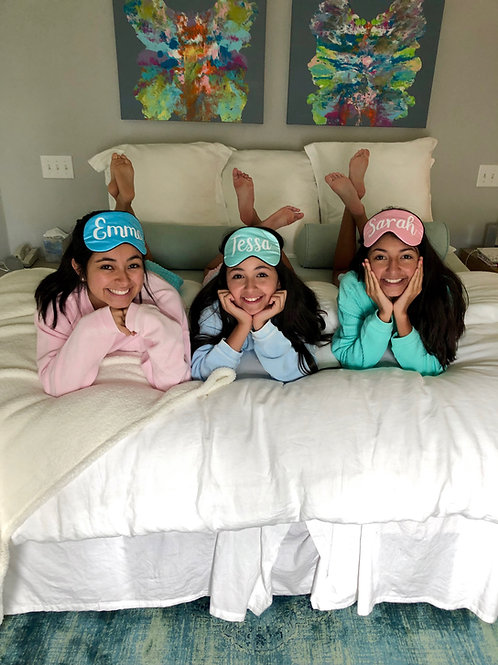 Personalized Silk Sleep Masks