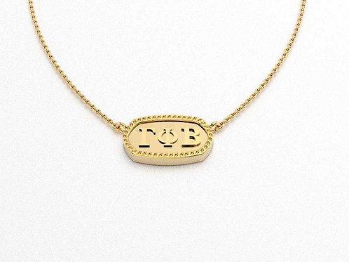 Gamma Phi Beta Gold Necklace