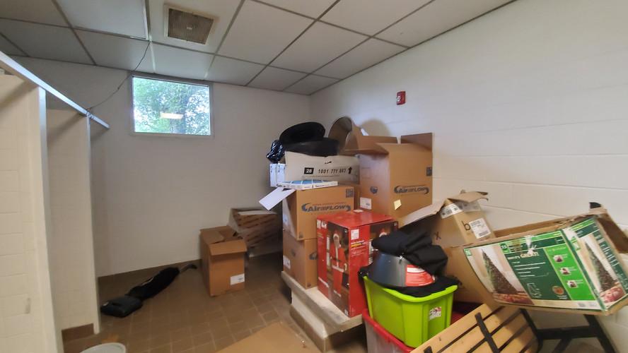 Locker room - before