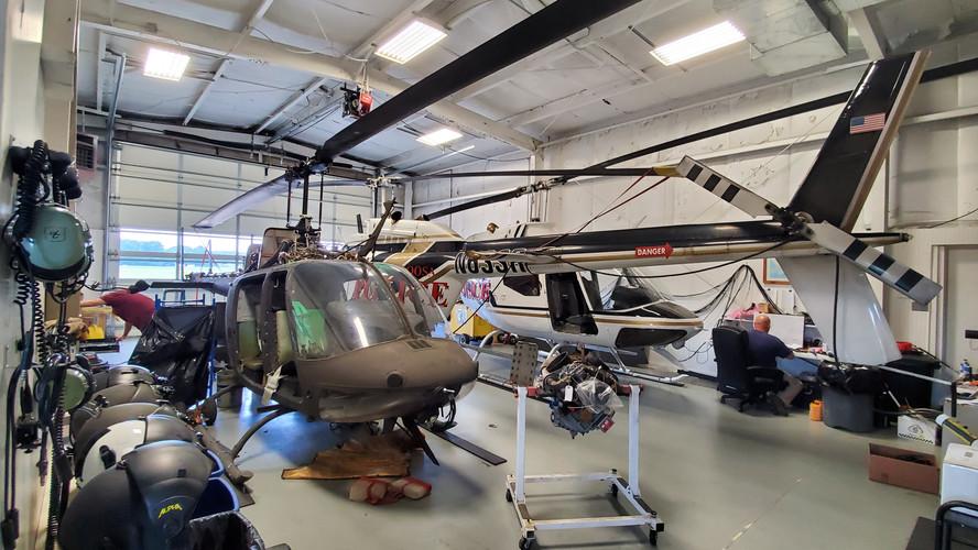 Hangar Interior 2