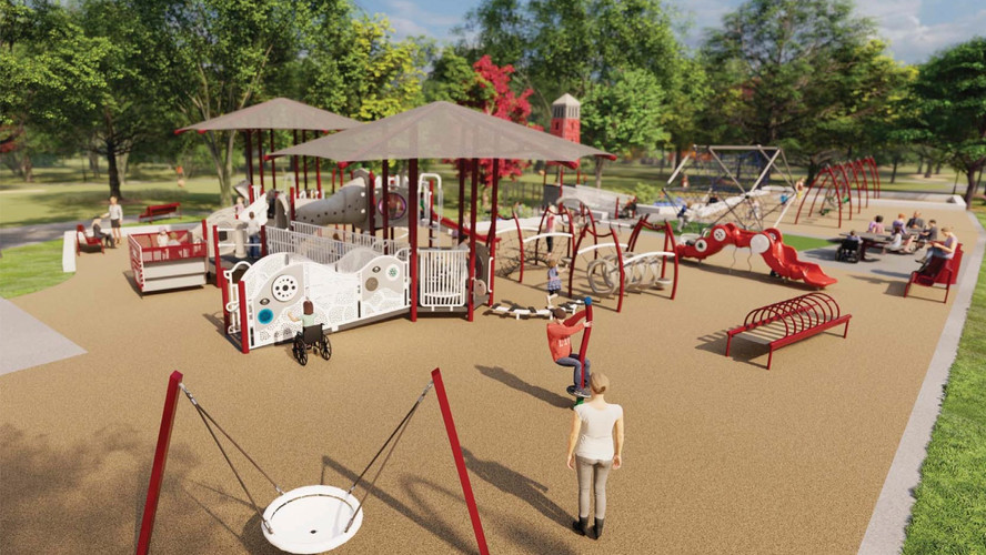 Playground conceptual rendering