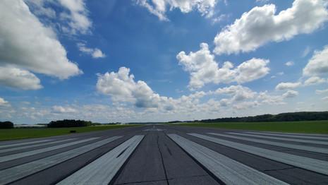 Existing runway 4-22