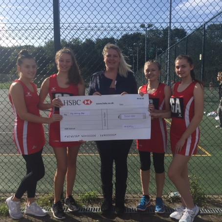 Medway Junior Netball League Fundraising
