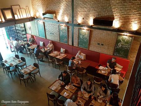 O Toscana Tratoria é um restaurante italiano com foco em frutos do mar...
