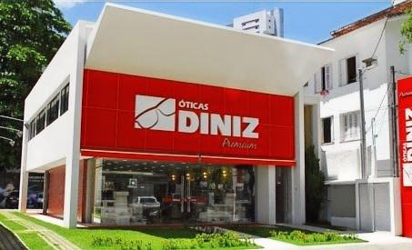 Ótica Diniz Prime tem marcas internacionais...