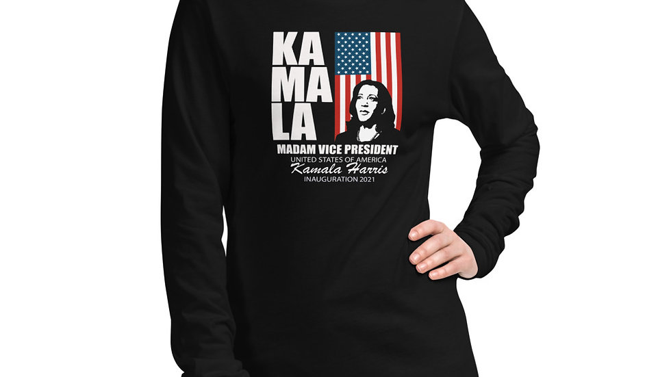 Kamala Harris Inauguration 2021 Commenrotive Unisex Long Sleeve Tee