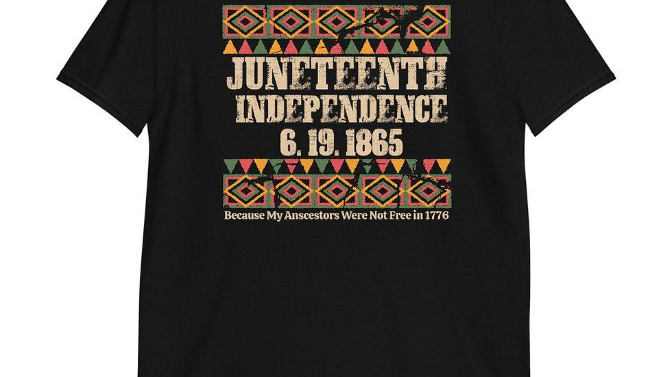 Juneteenth Independence 6.19.1865 Short-Sleeve Unisex T-Shirt
