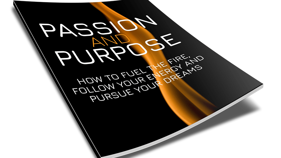 Passion and Purpose Ebook and Worksheets