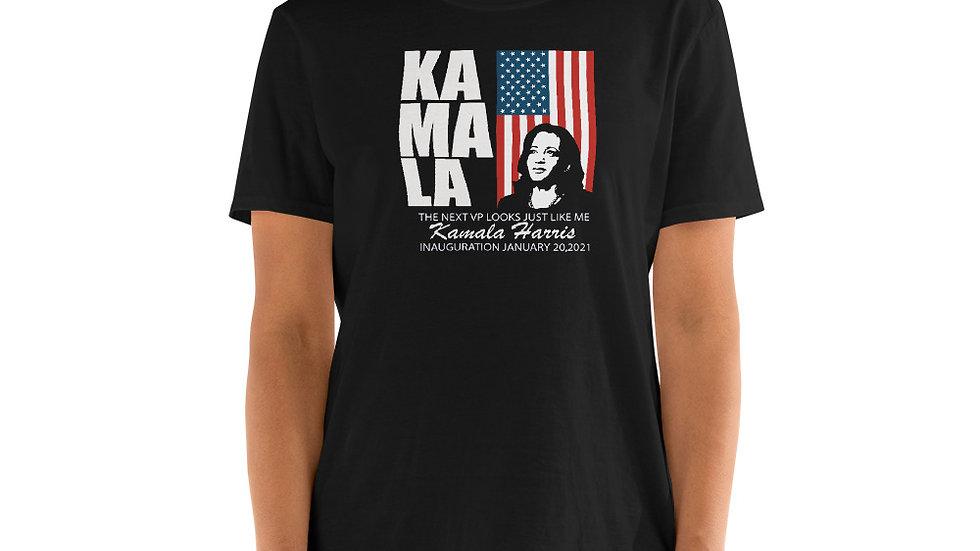 Kamala Harris 2021 Inauguration Day Commemorative  Short-Sleeve Unisex T-Shirt