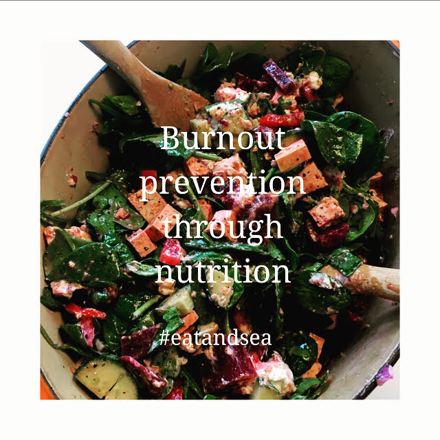 Spinach Salad with tofu | Orthomolecular Therapy | EatandSea instagram post