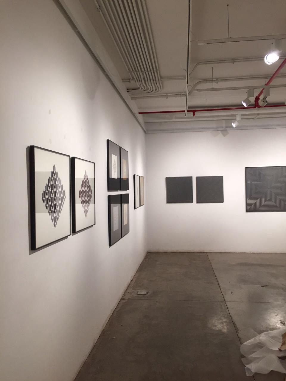 Exposición Alzzio en Galeria La Sala