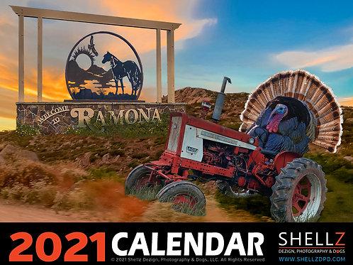 2021 Ramona Calendar