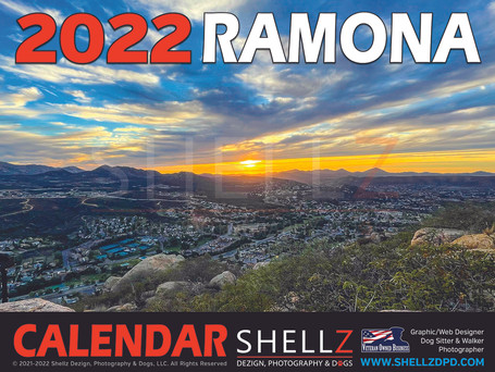 2022 Limited Edition Ramona Calendar NOW AVAILABLE for PRE-ORDER
