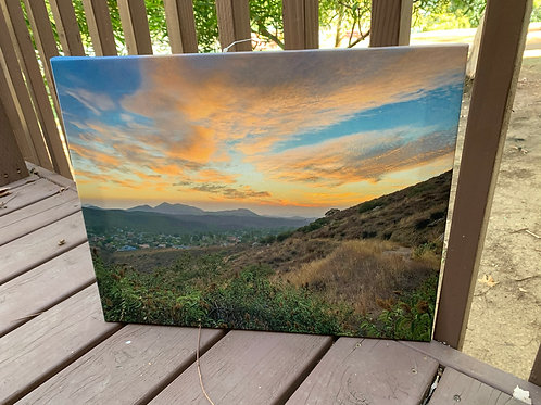 SDCE Sunset | 16x20 Canvas