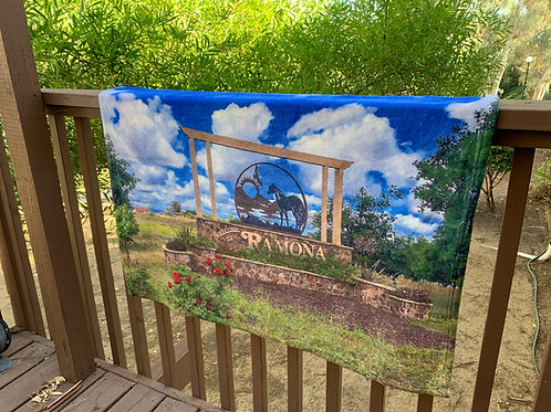 Riding into Ramona | 30x40 Fleece Blanket