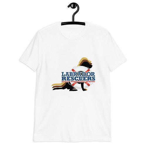 Unisex Softstyle T-Shirt - Large LR Logo on front & logo label on back