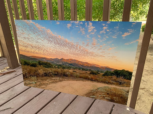 Simon's Sunset | 24x36 Metal Print