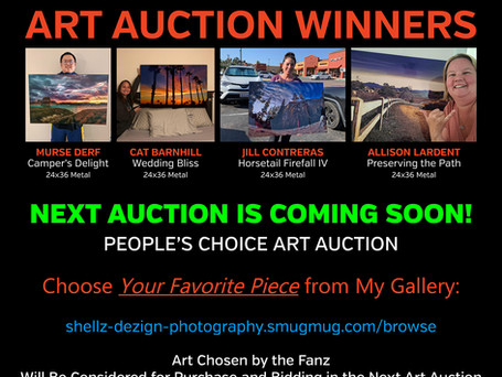 PEOPLE'S CHOICE ART AUCTION